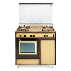 De Longhi Dgk96b4 Striking kitchen cm. 90 - 4 gas burners - enamelled Design