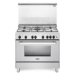 De Longhi Dgvw96 Striking kitchen cm. 90 - 5 gas burners - white Nuove Design