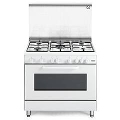 De Longhi Dgw85 Striking kitchen cm. 80 - 5 gas burners - white Design