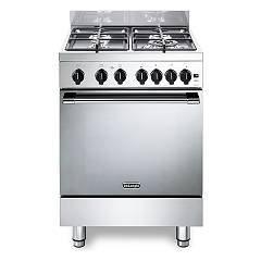 De Longhi Gemma66gv2 Striking kitchen cm. 60 - 4 gas - stainless steel burners
