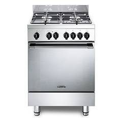 De Longhi Gemma66m2 Striking kitchen cm. 60 - 4 gas - stainless steel burners Gemma