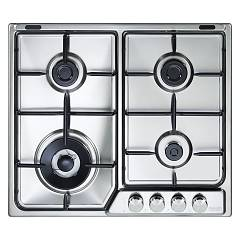 De Longhi If46asdvspn Cuisson au gaz top cm. 60 - inox Soft