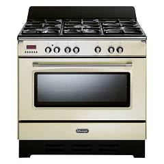 De Longhi Mem965ba Approach kitchen cm. 90 - 5 gas burners - cream Mastercook