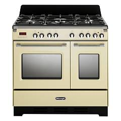 De Longhi Mem965tba Approach kitchen cm. 90 - 5 gas burners - cream Mastercook