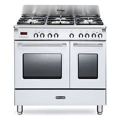 De Longhi Mem965twx Striking kitchen cm. 90 - 5 gas burners - white Mastercook