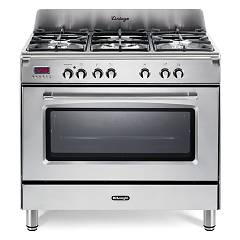 De Longhi Mem965xx Striking kitchen cm. 90 - 5 gas - stainless steel burners Mastercook