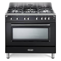 De Longhi Mgv965nx Approach kitchen cm. 90 - 5 gas burners - glossy black Mastercook
