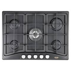 De Longhi Pfa57gh Table de cuisson à gaz 70 cm - anthracite Professional
