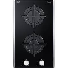 De Longhi Pvg30dpro Gas hob cm. 30 - black ceramic glass Domino