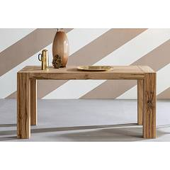 Devina Nais Mini Brooklyn Ext Extendable table in solid wood