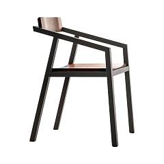Devina Nais Sd247 Wooden chair with armrests