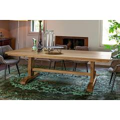 Devina Nais Viking Fixed / extendable table in solid wood