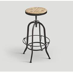 Dialma Brown DB004627 Stool metal and wood