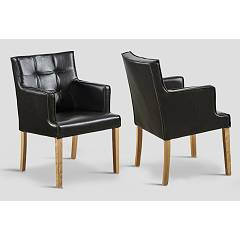 sale Dialma Brown Db004112 Armchair In Wood And Leather