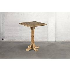 Dialma Brown Db004210 Table fixe l. 80 x 80