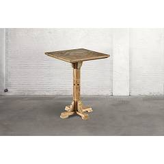 Dialma Brown Db004212 Table fixe l. 80 x 80