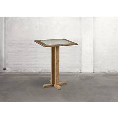 Dialma Brown Db004215 Table fixe l. 80 x 80