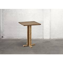 Dialma Brown Db004217 Table fixe l. 80 x 80