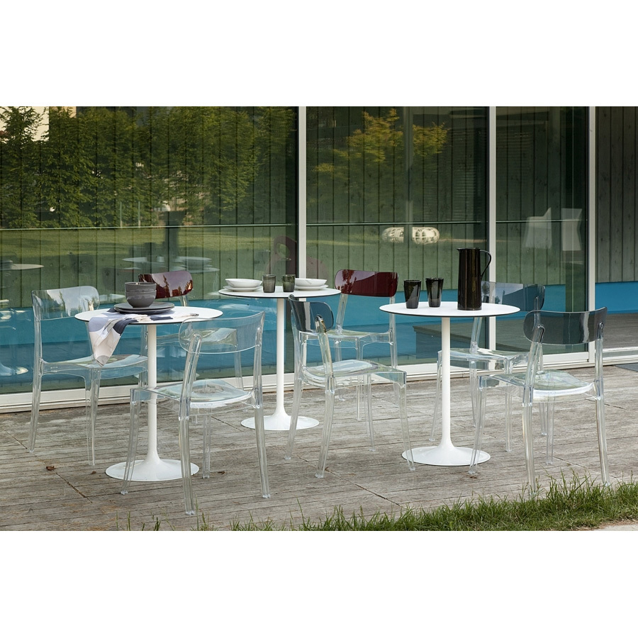Photos 2: Domitalia Fixed round table d. 70 outdoor CROWN-BT