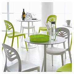 Photos 4: Domitalia Fixed round table d. 70 outdoor CROWN-BT