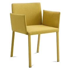Domitalia Chloe-p Armchair covered in fabric / ecoleather / leather