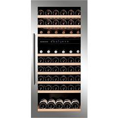 Dunavox Dab-89.215dss - Exclusive Cellar wine collection cm. 60 - 87 bottles - stainless steel