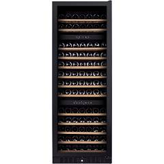 Dunavox Dx-170.490tbk - Exclusive The wine cantina cm. 65 - 170 bottles - glass black