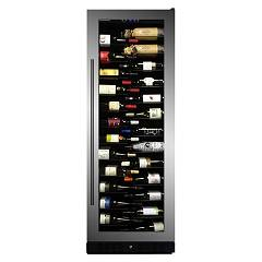 Dunavox Dx-143.468ss - Exclusive The wine cantina cm. 65 - 143 bottles - stainless steel