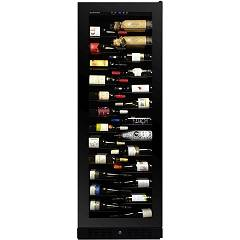 Dunavox Dx-143.468b - Exclusive The wine cantina cm. 65 - 143 bottles - black glass