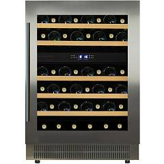 Dunavox Dau-46.146dss - Exclusive The wine cantina cm. 59 - 46 bottles - stainless steel