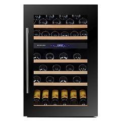 Dunavox Dx-57.146dbk Cellar wine collection cm. 59 - 57 bottle - black glass
