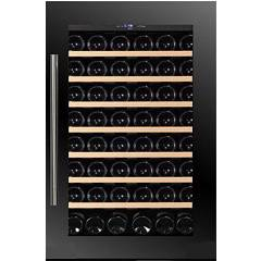 Dunavox Dab-48.125b Cellar wine collection cm. 59 - 48 bottles - black glass