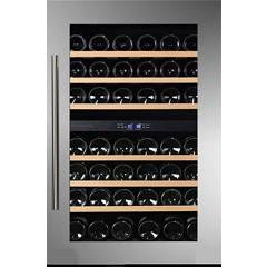 Dunavox Dab-42.117dss Cellar wine collection cm. 59 - 42 bottles - stainless steel