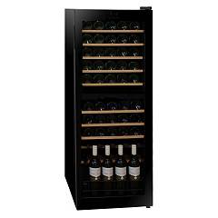 Dunavox Dx-54.150dk The wine cantina cm. 48 - 54 bottles - black glass free-standing
