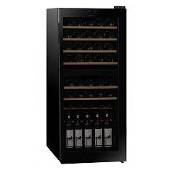 Dunavox Dx-46.128dk The wine cantina cm. 48 - 46-bottles - black glass free-standing