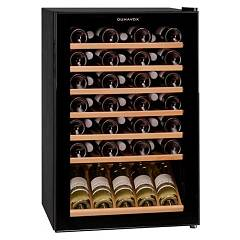 Dunavox Dx-48.130kf The wine cantina cm. 55 - 40/48 bottles - black glass free-standing