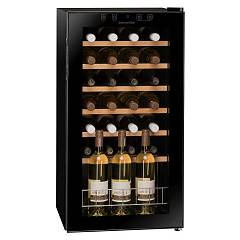 Dunavox Dx-28.88kf The wine cantina cm. 43 - 20 bottles - black glass free-standing