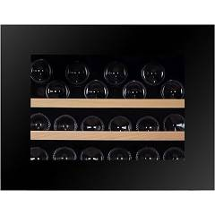 Dunavox Dab-26.60b.to Wine cellar cm. 60 h 45 - 26 bottles - black glass