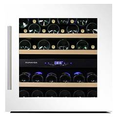 Dunavox Dab-36.80dw Cellar wine collection cm. 60 - 34 bottles - white