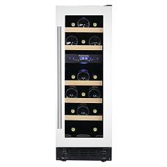 Dunavox Dau-17.57dw Wine cellar built cm. 30 - 17 bottles - white