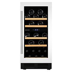 Dunavox Dau-32.78dw Wine cellar built cm. 40 - 32 bottles - white