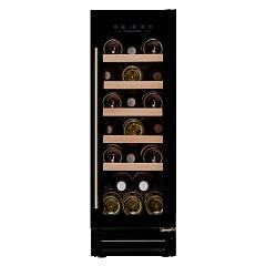Dunavox Dau-19.58b Wine cellar cm. 30 - 19 bottles - black glass