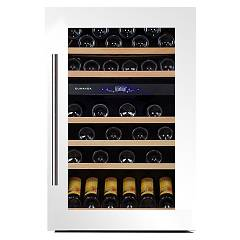 Dunavox Dx-57.146dwk Cellar wine collection cm. 59 - 57 bottle - white glass