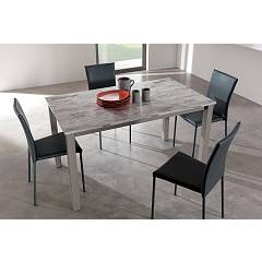 Easyline Mix Quadro Extendible table l. 120 x 70
