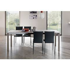 Easyline Mix Quadro Extendible table l. 140 x 80