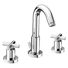 sale Effepi 4037 - Linea Sink Faucet - Chrome With Exhaust