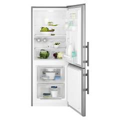 sale Electrolux En2400aox Fridge-freezer Cm. 60 - H 154 - Lt. 235 - Stainless Steel With Fingerprint Proof Finish