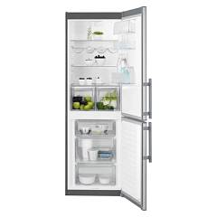 sale Electrolux En3613jox Fridge-freezer Cm. 60 - H 185 - Lt. 332 - Stainless Steel With Fingerprint Proof Finish