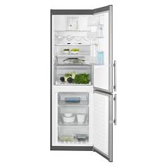 sale Electrolux En3454pox Fridge-freezer Cm. 60 - H 185 - Lt. 344 - Stainless Steel With Fingerprint Proof Finish
