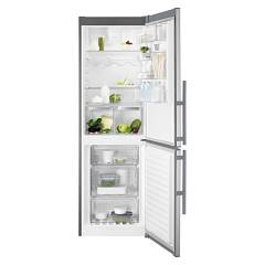 sale Electrolux En3618mfx Fridge-freezer Cm. 60 - H 185 - Lt. 332 - Stainless Steel With Fingerprint Proof Finish